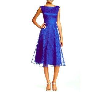 Betsey Johnson - Cobalt Blue Lace Dress - size 10